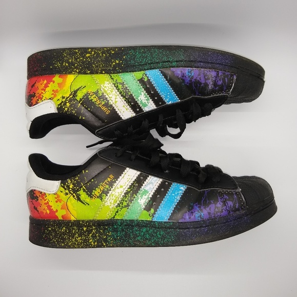 adidas superstar rainbow price